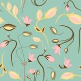 无缝的夏天微小的花卉样式 图库摄影