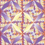 无缝的多角形五颜六色的样式 几何抽象的背景 库存照片