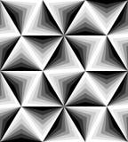 无缝的多角形单色样式 几何抽象的背景 适用于纺织品,织品和包装 免版税库存照片
