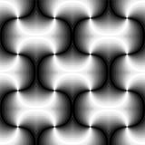 无缝的多角形单色螺旋样式 几何抽象的背景 适用于纺织品,织品和包装 免版税库存图片