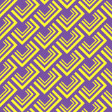 无缝的多角形样式 几何抽象的背景 库存照片