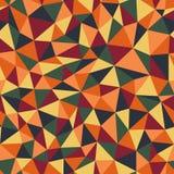 无缝的多角形样式 免版税库存图片