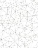 无缝的多角形样式 图库摄影