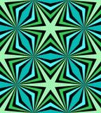 无缝的多角形蓝色和绿色样式 几何抽象的背景 适用于纺织品,织品,包装和网络设计 免版税库存图片