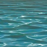 无缝的大海背景 免版税图库摄影