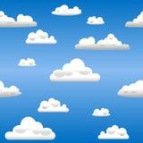 无缝的天空 免版税库存图片