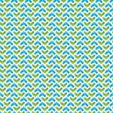 无缝的容量几何样式 库存照片
