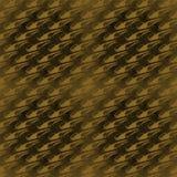 无缝的对角样式金子褐色 免版税库存图片