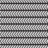无缝的当地样式织法瓦片在单色背景中 免版税库存照片