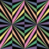 无缝的彩虹Poligonal样式 几何抽象的背景 免版税库存照片