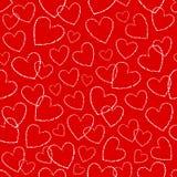 无缝的心脏 库存图片