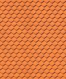 无缝的房子屋顶纹理 库存照片