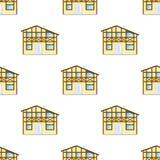 无缝的房子 免版税图库摄影