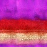 无缝的手拉的水彩背景 免版税库存图片