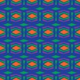 无缝的抽象传染媒介样式在颜色背景中 库存照片