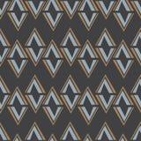 无缝的抽象传染媒介样式daimond瓦片背景 库存照片