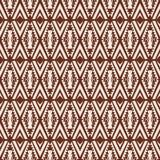 无缝的抽象传染媒介纹理样式种族样式背景 图库摄影
