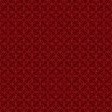 无缝的抽象几何圈子线样式 库存例证
