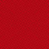 无缝的抽象几何方形的样式背景 皇族释放例证