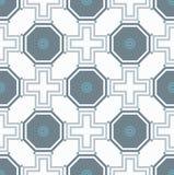无缝的抽象几何样式 图库摄影