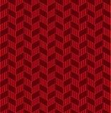 无缝的抽象几何Z形图案背景 向量例证