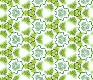 无缝的抽象墙纸,绿色 为设计的依据 图库摄影