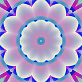 无缝的抽象开花白色桃红色灰色紫色蓝色 皇族释放例证