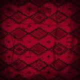 无缝的抽象手拉的ethno样式,部族背景 免版税库存图片