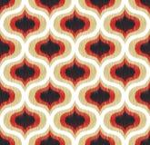 无缝的抽象曲线装饰品样式 免版税库存照片
