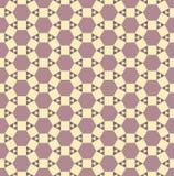 无缝的抽象样式。 与三角,正方形的纹理,六 免版税库存照片
