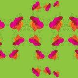 无缝的抽象模式 库存照片