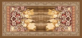 无缝的抽象水彩设计样式背景 库存例证