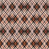 无缝的抽象种族几何装饰品 免版税库存图片