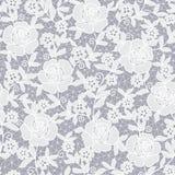无缝的抽象花卉背景 库存例证