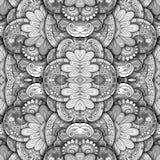 无缝的抽象部族样式& x28; Vector& x29; 免版税库存图片