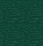 无缝的数学手写 皇族释放例证