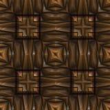 无缝的新生木头 免版税图库摄影