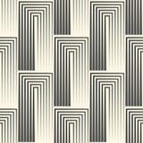 无缝的方形墙纸 条纹图形设计 抽象希腊语 皇族释放例证