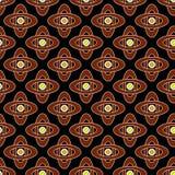 无缝的明亮的抽象样式几何纹理背景 免版税库存图片