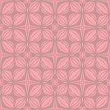 无缝的星花纹花样背景 向量例证