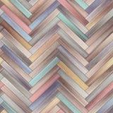 无缝的木木条地板纹理人字形夹子艺术 向量例证