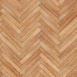 无缝的木木条地板纹理人字形沙子颜色 库存例证