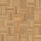 无缝的木木条地板纹理棋沙子颜色 免版税库存照片
