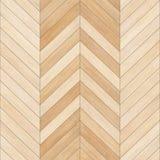 无缝的木木条地板纹理V形臂章夹子艺术 免版税库存图片
