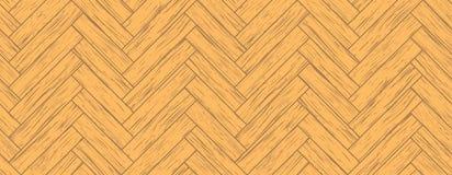 无缝的木条地板 库存照片