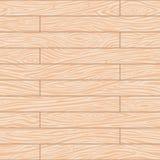 无缝的木板走道背景 库存例证