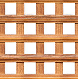 无缝的木范围 免版税库存图片