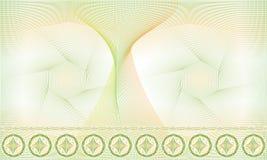 无缝的样式、背景、装饰扭索状装饰玫瑰华饰证明的或文凭 免版税库存图片