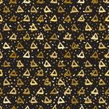 无缝的样式三角 向量例证