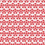 无缝的样式中国背景,红色豪华花传染媒介 库存例证
